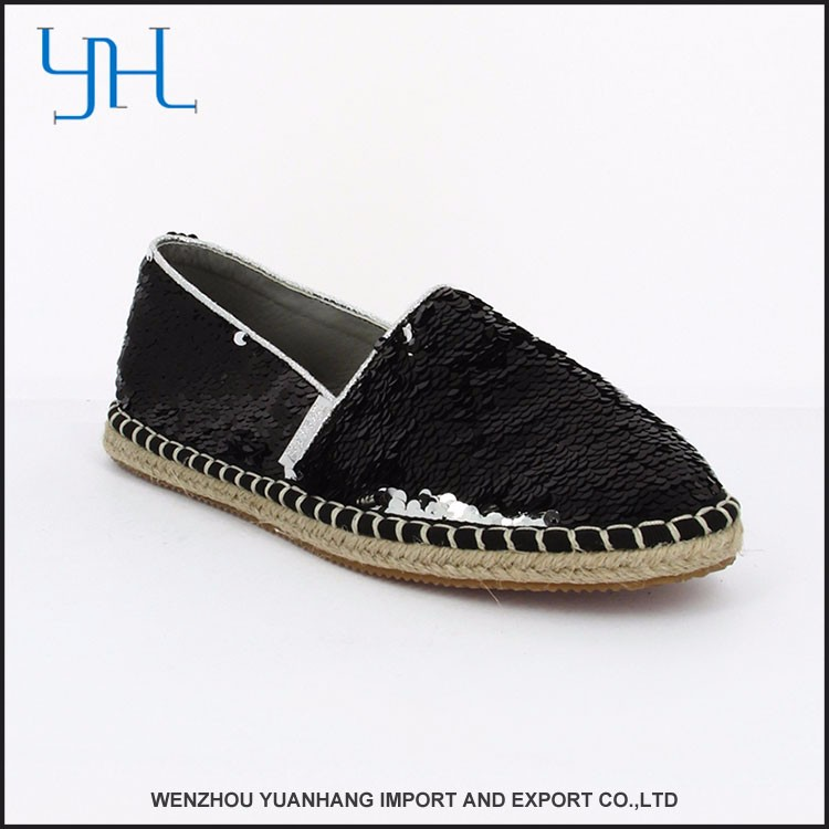 New Design Accepted Oem Latest Design Lady Flat Shoes