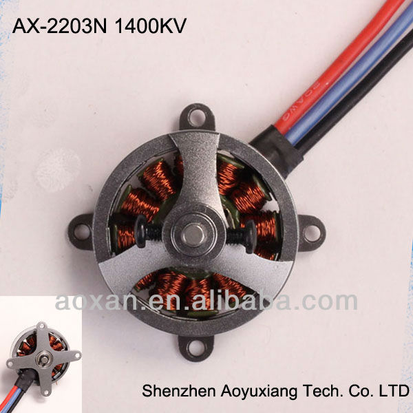 rc dc mini electric outrunner brushless motor for helicopter
