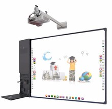 Educational equipment all in one touch screen smart board with I3 computer