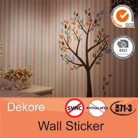 Large tree home decoration self adhesive wall sticker