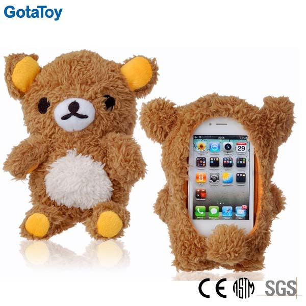 Custom plush toy case for iphone