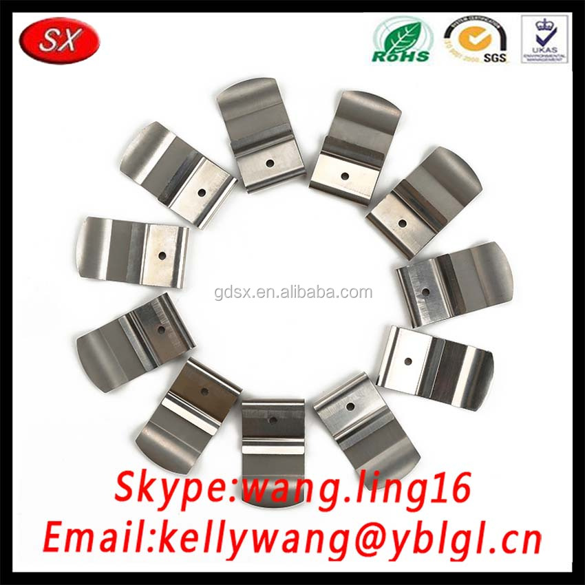 top selling ROHS compliant America client customized zinc/nickel plating metal battery belt clip