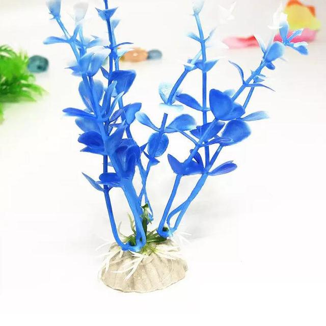 Aquarium Fish Tank Water Grass Plant Emulational Artificial Plastic Decorative Decorations Ornament
