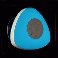 suction cup waterproof bluetooth speaker for shower with sucker