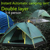 Double layer Instant tent Automatic camping tent beyond outdoor