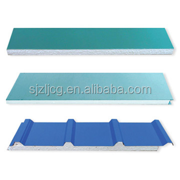 Light weight garage wall panel polyurethane sandwich panel price from china supplier 102888