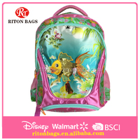 Attractive Goldfish Design Chinese Style School Bag