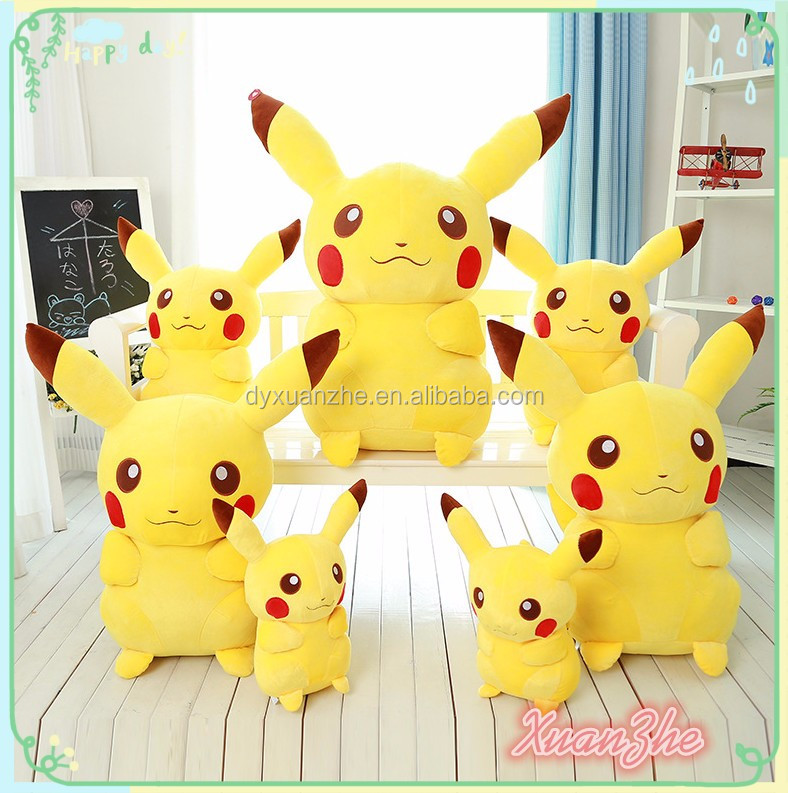 Fashion Cute Stuffed Plush Pikachu Toys Custom Wholesale Pokemon Plush