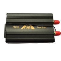 Factory price car gps tracker TK103A car Track Absolute street address by SMS
