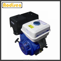 gasoline powered factory price agriculture use 13hp gx390 water pump engine