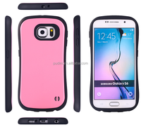 2015 PUDINI wholesale shockproof mix colors 2 in 1 pc+tpu Armor case for samsung galaxy s6 edge
