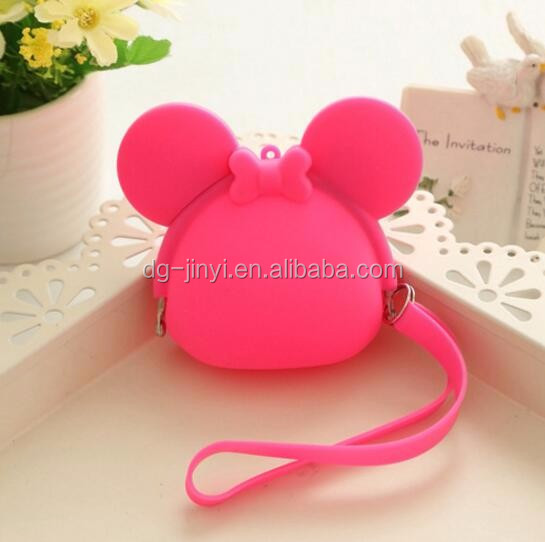 Fashion trends wallet purses silicone wallets women lady