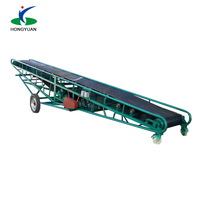 Factory price High capacity mobile grain conveyer belt