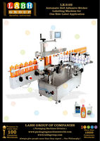 Automatic Self Adhesive Sticker Labelling Machine for One Side Label Application