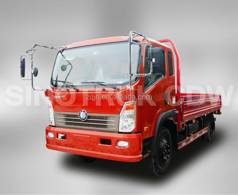 With Good Price Single/Double Cabin 4x2 HOWO 3 ton trucks for sale