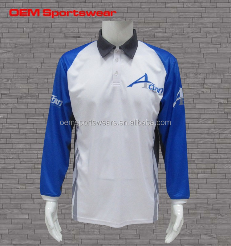 Wholesale printing polyester vented fishing shirt upf 50 for Polyester fishing shirts