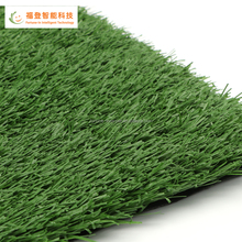 Wholesale Indoor/Outdoor Artificial Solid Grass with Drainage Holes