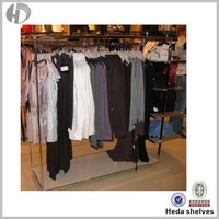 metal garment shops clothes rack for clothes rack store