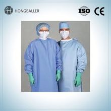 Disposable Ppe Reinforced Hospital Gowns