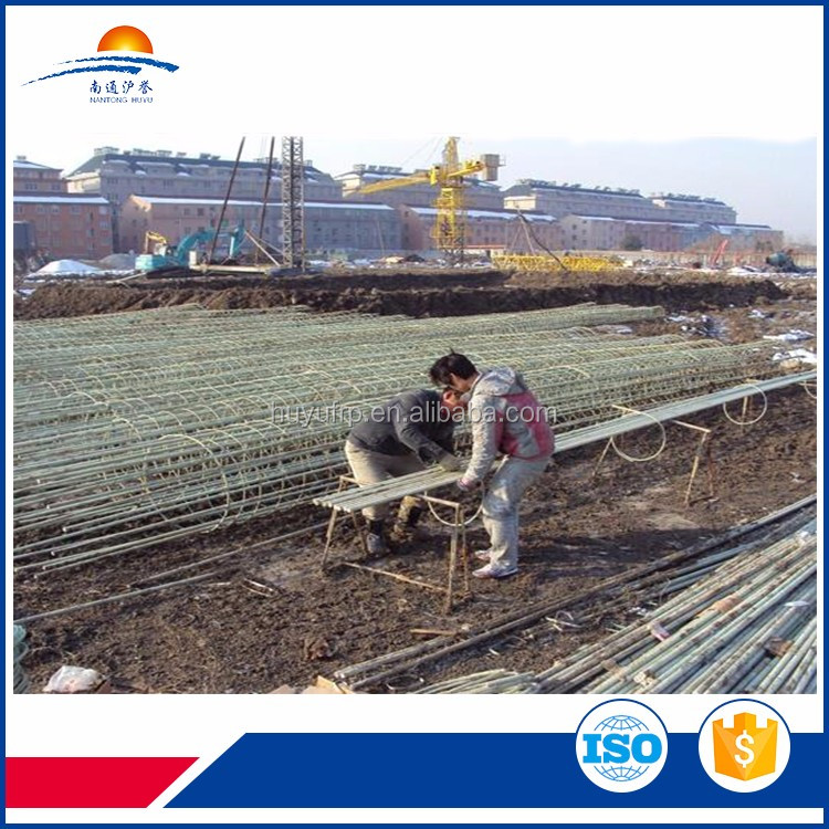 FRP pultrusion product electricity non-conductive fiberglass deformed rebar
