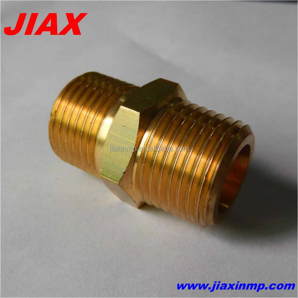 OEM manufacturer cnc turning brass pipe fitting