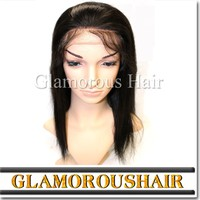 Hot selling 100% human hair lace wig, wholesale brazilian hair wigs for african american
