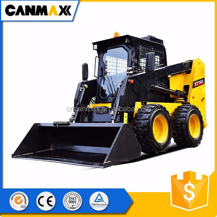 High Efficiency 60 Kw small skid steer loader