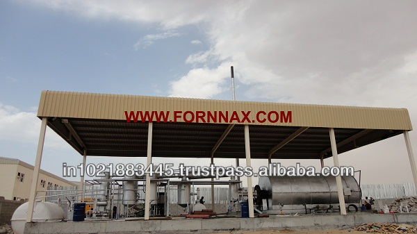7th Generation Tyre Pyrolysis Plant