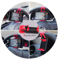 2015 universal car steering wheel mobile phone mount holder