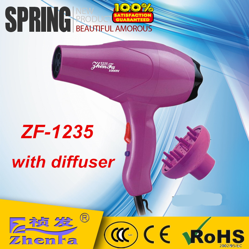 DC Motor,Personal care product.Household Hair Dryer with diffuser
