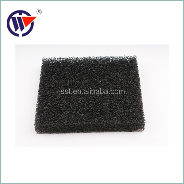 fibrous activated carbon fiber mesh for water filter