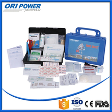 OP manufacture FDA CE ISO approved profession plastic factory first aid kits box