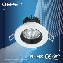 Aluminum frame recessed ceiling lighting 15 watt led ceiling down light adjustable downlight led