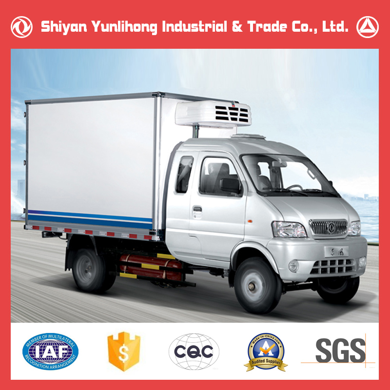 Dongfeng 4x2 Small Refrigerated Truck/ Cooler Truck/Food Truck Fridge