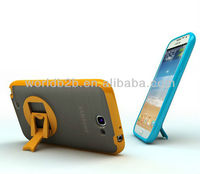 New Smart Rotate Stand PC Cell Phone Case for Samsung Galaxy Note 2/N7100, 2 in 1 PC + TPU design