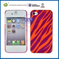 Newest Style Factory Direct OEM Colored hard case cover for iphone4 4s