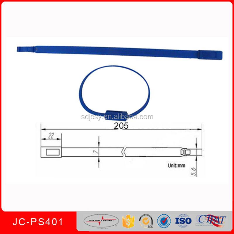 JCPS401 Top Products plastic insert security plastic car seals
