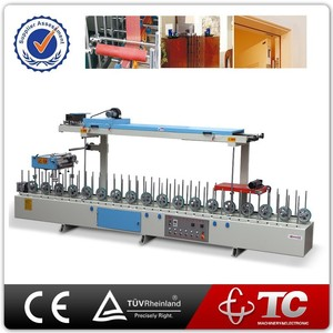 Suitable For Plastic PVC Film Aluminum manual profile sandwiches wrapping machine