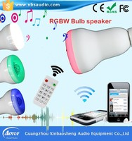 Mini cute RGB color led lamp bluetooth speaker,bluetooth speaker lep lamp,cheap bluetooth speaker led blub