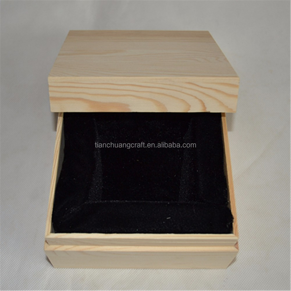 Wholesale beads hand string bracelet with wooden box Silver jewelry gift box jade wooden jewelry box