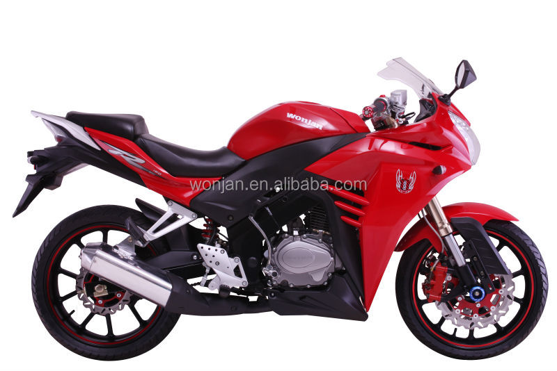 2014 brand new 250cc gasoline sports bike (WJ250R)