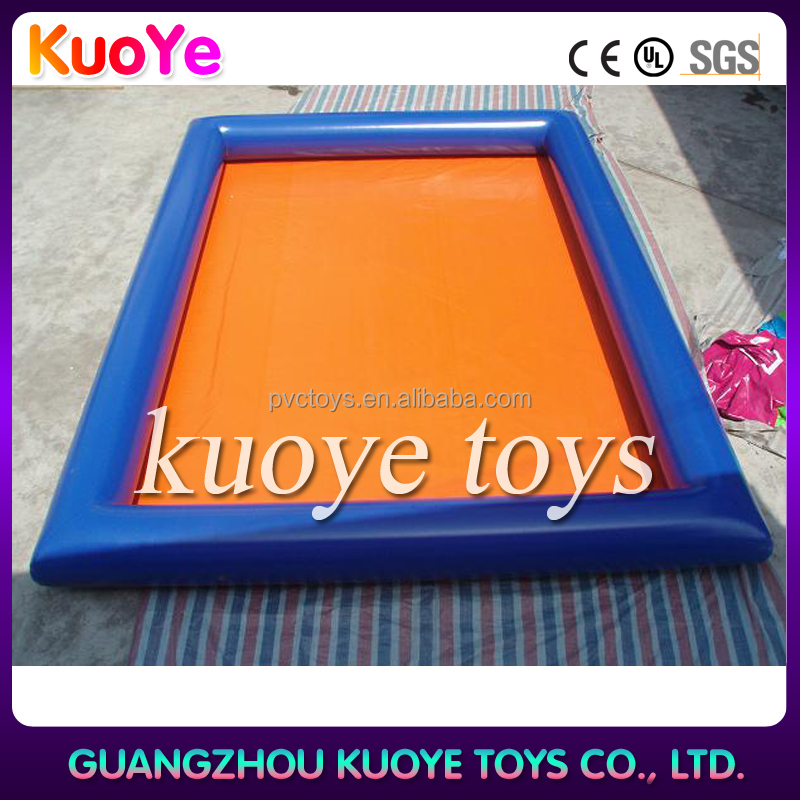 High quality pvc water ball game large inflatable swimming pool for kids