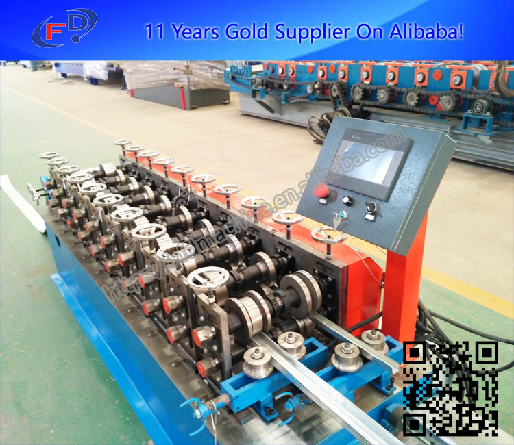 Building Material Aluminium C Profile Stud Making Machinery From China Factory