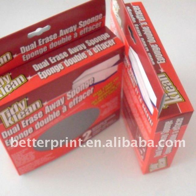 white card paper toy packaging box printing service with PVC window