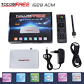 2017 Tocomfree i928ACM hd satellite receiver work for Latin America