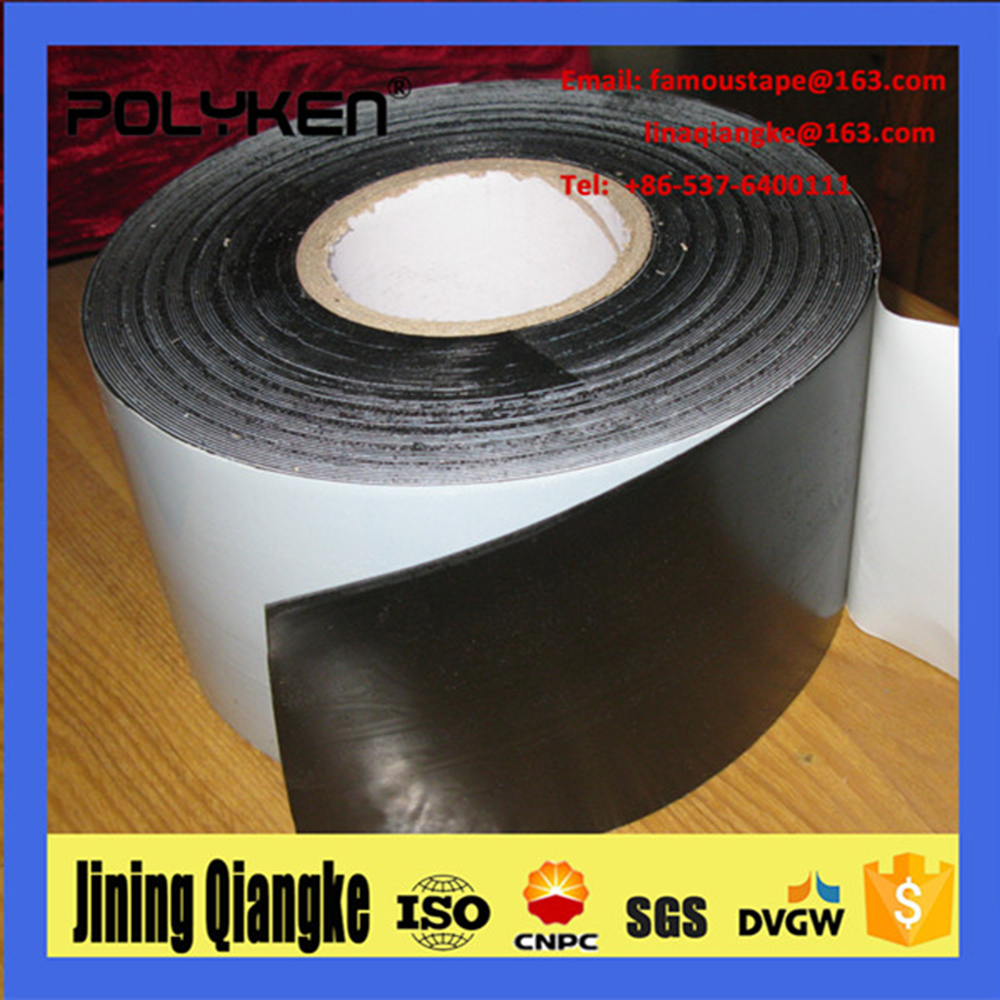 Polyken high quality 942 3-ply coating system& Anticorrosion butyl rubber tape using for oil and gas steel pipeline