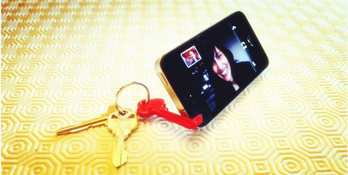 BK-7263 Hot sale baku key chain holder stand for all kinds of smart phone as key stand