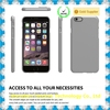 Slim fitted pc back case cover skin for iPhone 4 5s 6 plus, matte pc phone case for iPhone 6