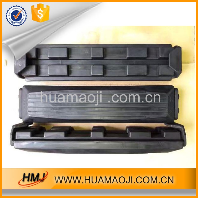 Tracked vehicles snowmobile track,rubber track pad for snow vehicle