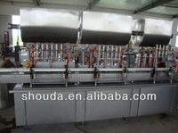 Factory price Automatic glass bottle viscostiy rose paste filling machine with CE,ISO